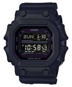 From G-SHOCK, the watch that sets the standard for timekeeping toughness, comes the latest models to feature a stealth G-SHOCK black that captures the essence o