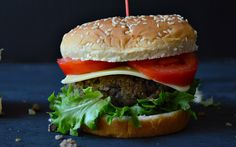 Black beans and quinoa make one beastly burger! You have to try it!