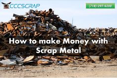 Contact CCC Scrap for quick and convenient metal recycling services in New York City and make fast money by selling your unused scrap. Scrap Recycling, Recycling Services, Metal Prices, Long Island, How To Make Money, Nyc, York, City, Cities
