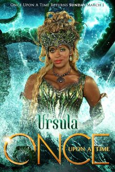 Meet Ursula. #QueensOfDarkness  Once Upon A Time returns Sunday, March 1 on ABC.