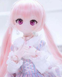 Save = follow me Kawaii Doll, Kawaii Anime Girl, Anime Art Girl, Anime Dolls, Bjd Dolls, Plush Dolls, Pretty Dolls, Beautiful Dolls, Anime Drawing Styles