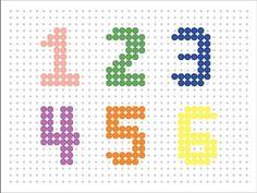 Hama Bead Numbers