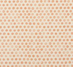 Tika Pompeii: orange polka-dot linen for chair Fabric Rug, Curtain Fabric, Curtains, Pompeii, New Homes, Textiles, Colours, Wall Art, Wallpaper