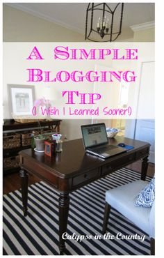 Calypso In The Country: A Simple Blogging Tip (About Commenting)