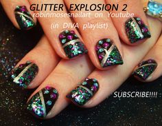 1000 Images About Nail Art Diva Swag Nails For Divas On