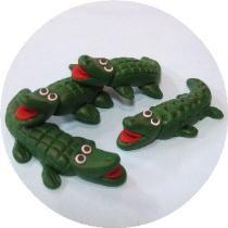 Marzipan Animals | Marzipan Animals : Artful Alligators