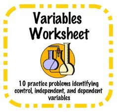 identify the controls and variables