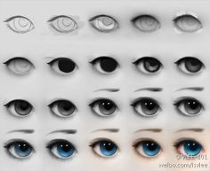 How#to#draw#eyes#step#by#step