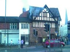 Fire at Hereford Farmer's Club, Widemarsh Street