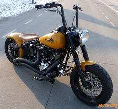 fat softail bobber