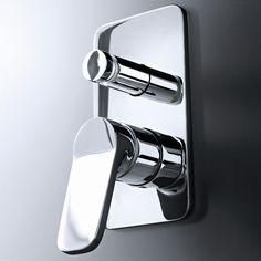 Fantini Unterputzmischer Levante | ein oder zwei Wege | Rodolfo Dordoni | modernes Design | zwei Oberflächen