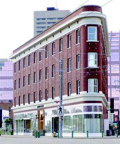 The Gibson Block on Jasper Avenue