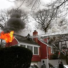 @firstonscenephotos -  West Hempstead NY - Working house fire on Redmont Road near Woodfield Road early Tuesday afternoon. Heavy fire on arrival. Photo taken with @nikonusa - More photos and video at: #firstonscenephotos @thefirenews. ___Want to be featured? _____ Use #chiefmiller  WWW.CHIEFMILLERAPPAREL.COM . ----------- CHECK OUT! Facebook- chiefmiller1 Periscope -chief_miller Tumblr- chief-miller Twitter - chief_miller YouTube- chief miller Vero - chief miller  TAG A FRIEND WHO NEEDS TO…