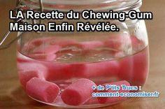 Comment fait-on du chewing-gum artisanal fait-maison ? Eh bien en fait c'est tout simple. Oui, la recette du chewing-gum fait maison est enfin révélée.  Découvrez l'astuce ici : http://www.comment-economiser.fr/chewing-gum-maison.html?utm_content=buffer4f825&utm_medium=social&utm_source=pinterest.com&utm_campaign=buffer