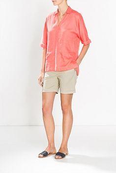 Chino Short Chino Shorts, Bermuda Shorts, Summer 2015, Women Wear, Clothes, Fashion, Outfits, Moda, Bermudas