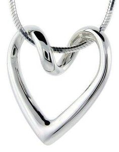 Sterling Silver Floating Heart Necklace Flawless Quality, 3/4 x 3/4 inch wide  https://in.kato.im/c9cd9ff5a7552d8b8fc17b9b64a5ce1718681b0715450c2e9b3a5040b3546ae0/B0002D8GFG.html