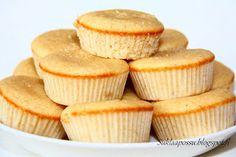 Suklaapossu: Muffinit Lemon Curd sydämellä