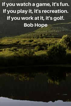 Your dose of #golf quote for today by Bob Hope! #lorisgolfshoppe