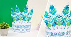 Atelier DIY : Printable couronne indien