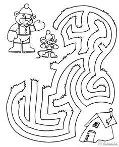 Mazes For Kids, Worksheets, Arabic Calligraphy, Activities, Teaching, Fun, Games, School, Labyrinths
