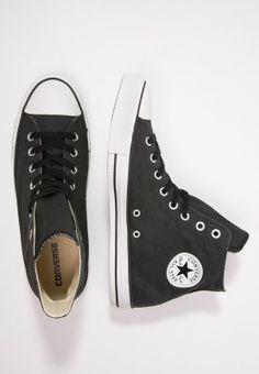Converse CHUCK TAYLOR ALL STAR - Sneakers hoog - black/white - Zalando.nl