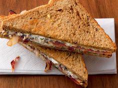 Speck-Pilz-Sandwich
