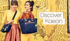 Discover Kaeon – the most creative, playful and eco-friendly Kipling collection
