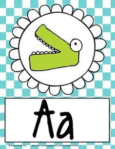 Back to School Common Core Alphabet Freebie