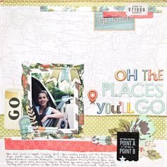 Oh the Places You'll Go by Heather Leopard for Gossamer Blue