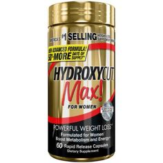 HYDROXYCUT Pro Clinical Max! for Women Weight Loss 60 ea (Pack of 6) * Click on the image for additional details.
