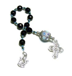 Catholic Men's One Decade Rosary Chaplet by SweetchildJewelry, $19.00