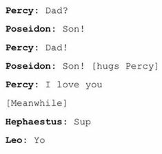 . Percy Jackson Head Canon, Percy Jackson Memes, Percy Jackson Books, Percy Jackson Fandom, Rick Y, Uncle Rick, Magnus Chase, Solangelo, Percabeth