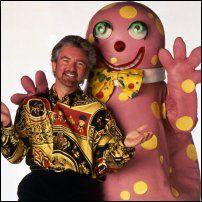 Noel & Mr Blobby