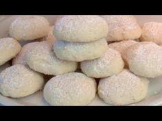 Τα μπισκότα λιώνουν στο στόμα σας! Απίστευτα κρεμώδες! # 383 - YouTube Italian Cookie Recipes, Sicilian Recipes, Italian Cookies, Sicilian Food, Cookies Fondant, No Bake Cookies, Cookies Et Biscuits, Cooking Cookies, Cookie Desserts