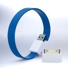 schöne bunte ringförmige Datenleitung/wie Armbänder für fast alle Handytypen
