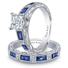 Similar to my engagement & wedding rings.  Would love pink diamonds/sapphires though!