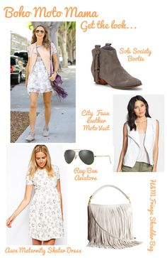 Moto Mama  | One Mama, Four Looks: Stacy Keibler's Maternity Style | The Baby Post