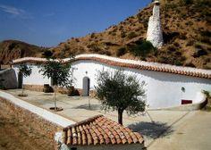 Andalusia, Cuevas Guadix