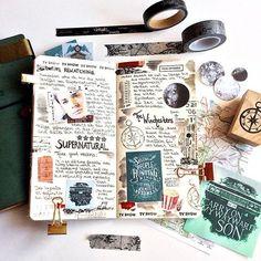 (@makememoriestoday) | Instagram photos and videos #notebook #supernatural #journal