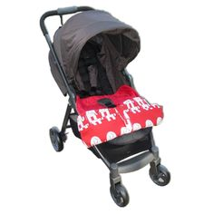 Keep your baby warm in style with the adorable Blue Baby Bum stroller blankets that stay attached to your stroller!