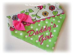 Daddy's Girl Dog Bandana