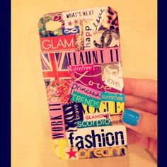 I'm definitely making this!!!!! reminds me of how I used to decorate my passbook in high school :)