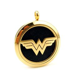 Shop for your Stainless Steel WonderWoman Essential Oil Locket now! A hero lovers favorite, this style is equally great for your favorite kid or adult!
