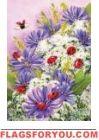 Ladybugs Delight Garden Flag