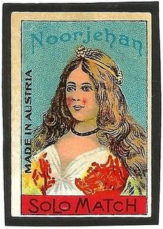 India-matchbox-label-NOOR-JEHAN