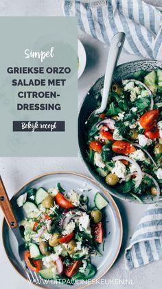 Superfood Salad, Pasta, Ethnic Recipes, Seeds, Pasta Recipes, Pasta Dishes