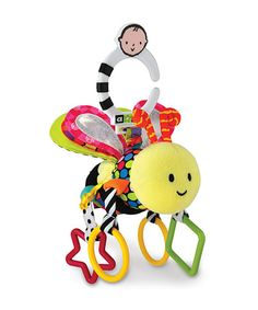Take a look at this Amazing Baby Developmental Bee Toy by The Plush Life: Toys & Pillows on #zulily today!
