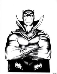 Black Panther by Wolden