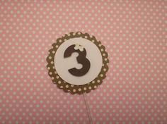 Cod 08528 - Toppers para doce e cupcake | Fazendo Arte Lembrancinhas | Elo7