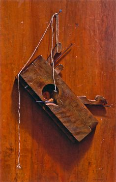 'Maine Plane' By Robert B. Dance- This is an old #stillLife that I did. I like to keep my #painting's theme towards what I take great interest in: #Maine and #woodworking. www.robertbdance.com